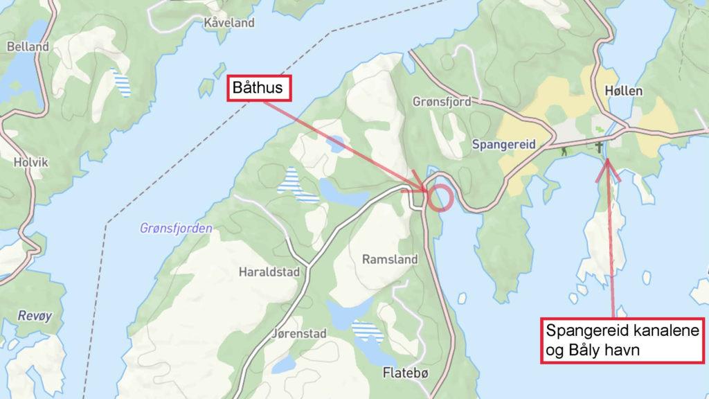 Overiskt Kart Lindesnes